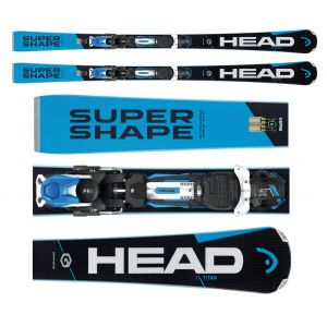 NARTY HEAD SUPERSHAPE I.TITAN 2017 + WIĄZANIA PRX 12 BRAKE 85