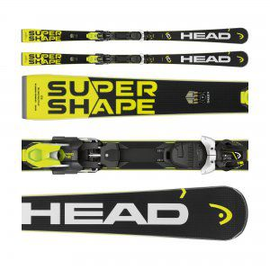 NARTY HEAD SUPERSHAPE I.SPEED 2018 + WIĄZANIA PRD 12 BRAKE 85