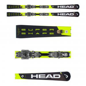 NARTY HEAD SUPERSHAPE I.SPEED 2019 + WIĄZANIA PRD 12 GW BRAKE 85
