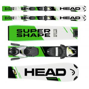 NARTY HEAD SUPERSHAPE SLR II 2017 + WIĄZANIA SLR 7.5 AC BR 78