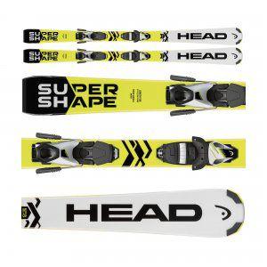 NARTY HEAD SUPERSHAPE SLR II 2018 + WIĄZANIA SLR 7.5 AC BR 78