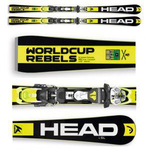 NARTY HEAD WORLDCUP REBELS ISL SW 2016 + WIĄZANIA FREEFLEX PRO 14