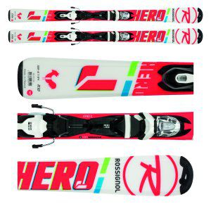 NARTY ROSSIGNOL HERO JUNIOR 2018 + WIĄZANIA XPRESS JR 7 B83