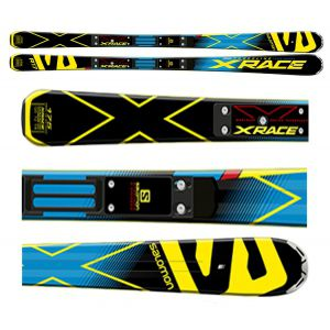 NARTY SALOMON X-RACE + RACE PLATE XX 2016