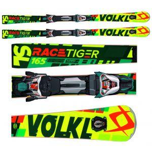 NARTY VOLKL RACETIGER SPEEDWALL SL UVO 2017 + WIĄZANIA RMOTION 2 12.0 D RACE