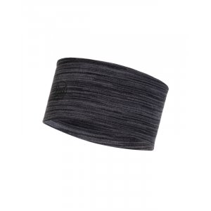 OPASKA BUFF HEADBAND WOOL MID 2L CASTEROCK GREY MULTI STRIPES SZARY