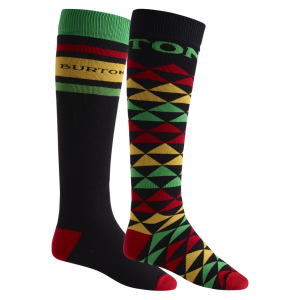 SKARPETY SNOWBOARDOWE BURTON  MEN'S WEEKEND SOCK TWO-PACK  2018 WIELOKOLOROWY