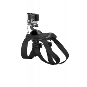 SZELKI GOPRO  FETCH DOG HARNESS  CZARNY