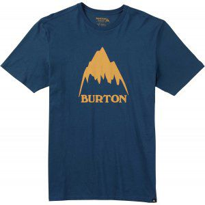 T-SHIRT BURTON  CLASSIC MOUNTAIN SHORT SLEEVER  2017 GRANATOWY