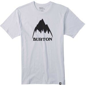 T-SHIRT BURTON  CLASSIC MOUNTAIN SHORT SLEEVER  2017 BIAŁY