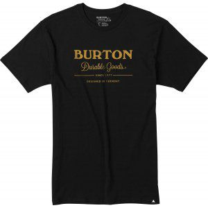 T-SHIRT BURTON  DURABLE GOODS  2017 CZARNY