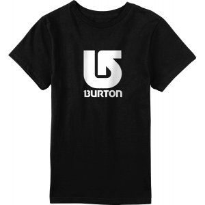 T-SHIRT BURTON  LOGO VERTICAL  2017 CZARNY