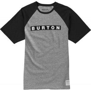 T-SHIRT BURTON  VAULT  2017 SZARY