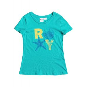 T-SHIRT ROXY  BASIC TEE RG B  2015 NIEBIESKI