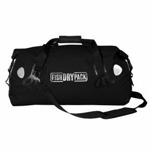 TORBA FISH SKATEBOARDS FISH DRY PACK DUFFLE 50L CZARNY