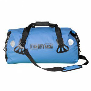 TORBA FISH SKATEBOARDS FISH DRY PACK DUFFLE 50L NIEBIESKI