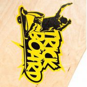 TRICKBOARD YELLOW THUNDER tył