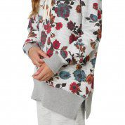 BLUZA BURTON FEARNOW PULLOVER GREY HEATHER WILD FLOWERS 2