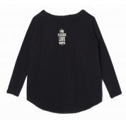 Bluza Femi Love czarna tył