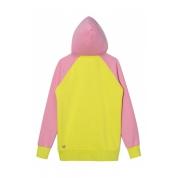 Bluza Femi Pleasure Candy różowa limonkowa tył
