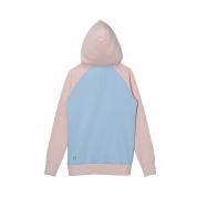 Bluza Femi Pleasure Candy różowa niebieska tył