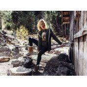 BLUZA FEMI PLEASURE HONEY FOREST GREEN