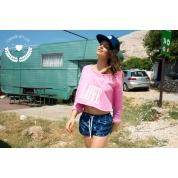 Bluza Femi Pleasure Love różowa foto