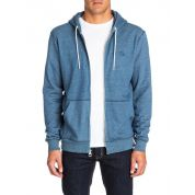 BLUZA QUIKSILVER EVERYDAY HEATHER ZIP DARK DENIM 3