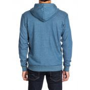 BLUZA QUIKSILVER EVERYDAY HEATHER ZIP DARK DENIM 4
