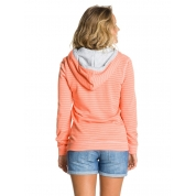 Bluza Roxy Beach Party Fleece pomarańczowa z tyłu