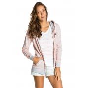 Bluza Roxy French Bay szaro różowa rozpięta