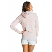 Bluza Roxy French Bay szaro różowa z tyłu