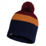 CZAPKA BUFF KNITTED AND FLEECE HAT JAV NIGHT BLUE