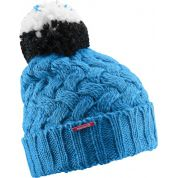 CZAPKA SALOMON LAURA BEANIE W METHYL BLUE