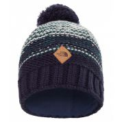 CZAPKA THE NORTH FACE ANTLERS BEANIE HIGH RISE GREY.