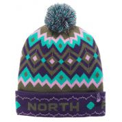 CZAPKA THE NORTH FACE SKI TUKE V GARNET PURPLE.