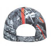 CZAPKA Z DASZKIEM BUFF PRO RUN CAP R-CITY JUNGLE GREY 1