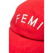 CZAPKA Z DASZKIEM FEMI STORIES FERO RED 1