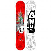 DESKA SNOWBOARDOWA GNU CARBON CREDIT CLUB COLLECTION CZERWONY