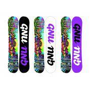 Deska snowboardowa gnu  ladies choice asym  2018