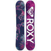 Deska snowboardowa roxy  xoxo ban  2018 fioletowy