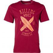 T-Shirt Oneill LM Target bordowwy