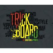 TRICKBOARD YELLOW THUNDER grafika