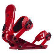 Wiązania snowboardowe Ride Revolt czerwone
