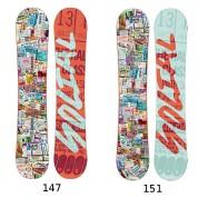 Deska Snowboardowa Social Restricted