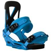 Wiązania snowboardowe Burton Mission EST niebieski skos