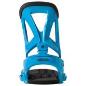 Wiązania snowboardowe Burton Mission EST niebieski tył