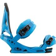 Wiązania snowboardowe Burton Mission niebieski bok