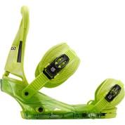 Wiązania snowboardowe Burton Custom zielony bok