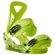 Wiązania snowboardowe Burton Custom zielony skos